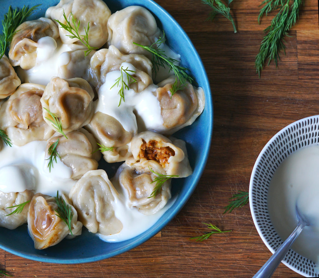 Pelmeni, Vegan, Recipe, Russian, Foodporn