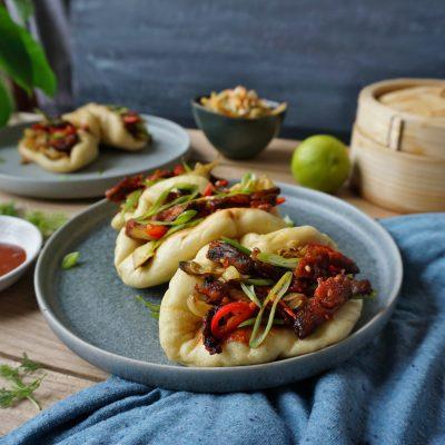 Bao buns, foodporn, crispy, shiitake, mushrooms, vegan, recipe, best ever