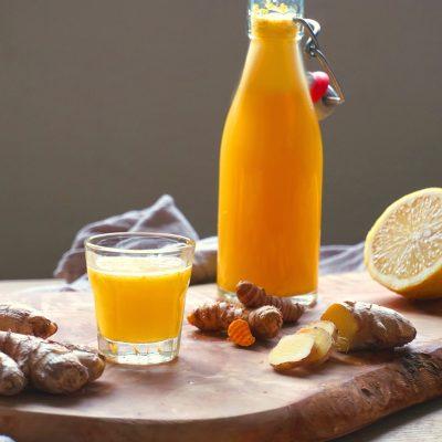 Immune Booster, Tasty, Ginger, Best ever, Shot, Vegan, Recipe