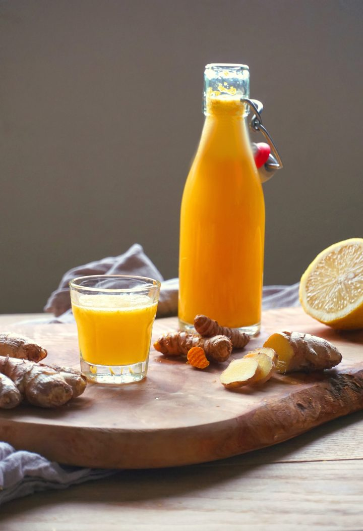 Immune Booster, Tasty, Ginger, Best ever, Shot, Vegan, Recipe